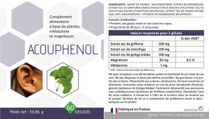 Composition de l'Acouphenol