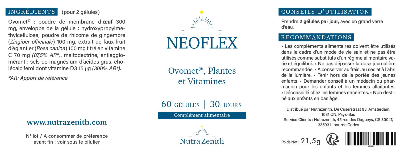 neoflex composotion