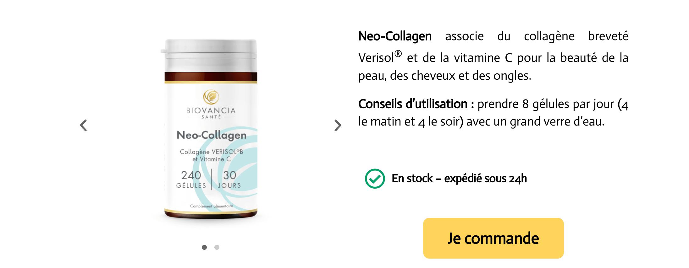 Neo collagen Verisol avis